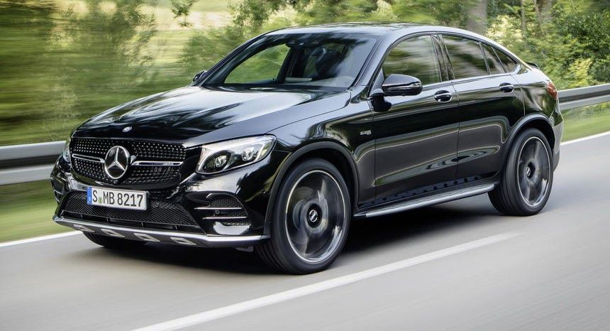 New Mercedes Amg Glc 43 4matic Coupe Spices Things Up With Bi