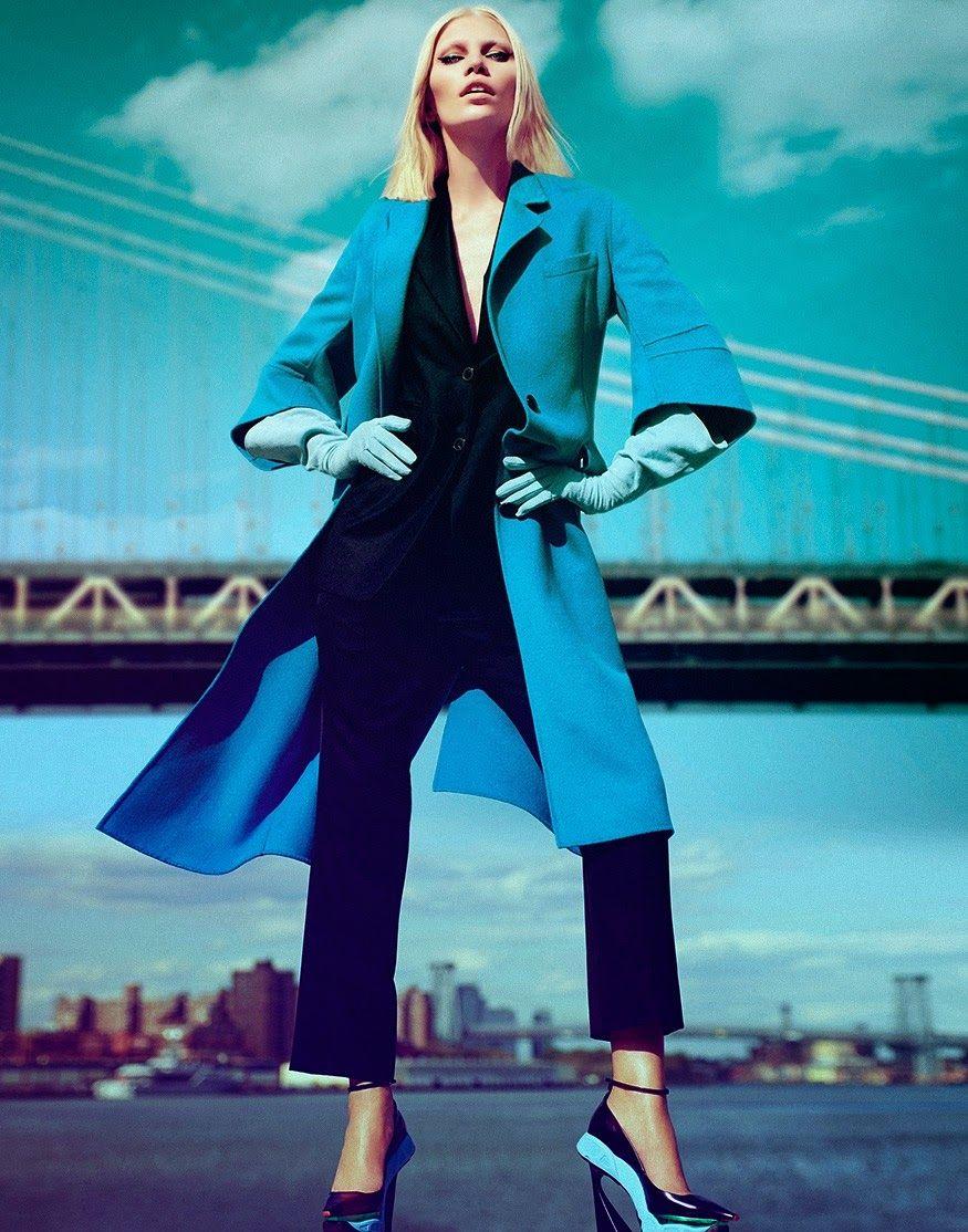 Aline Weber by Yu Tsai for Harper's Bazaar Magazine, Singapore, October 2014