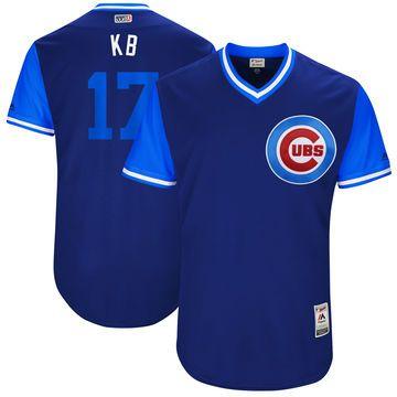 3c181f85b Men s Chicago Cubs Kris Bryant