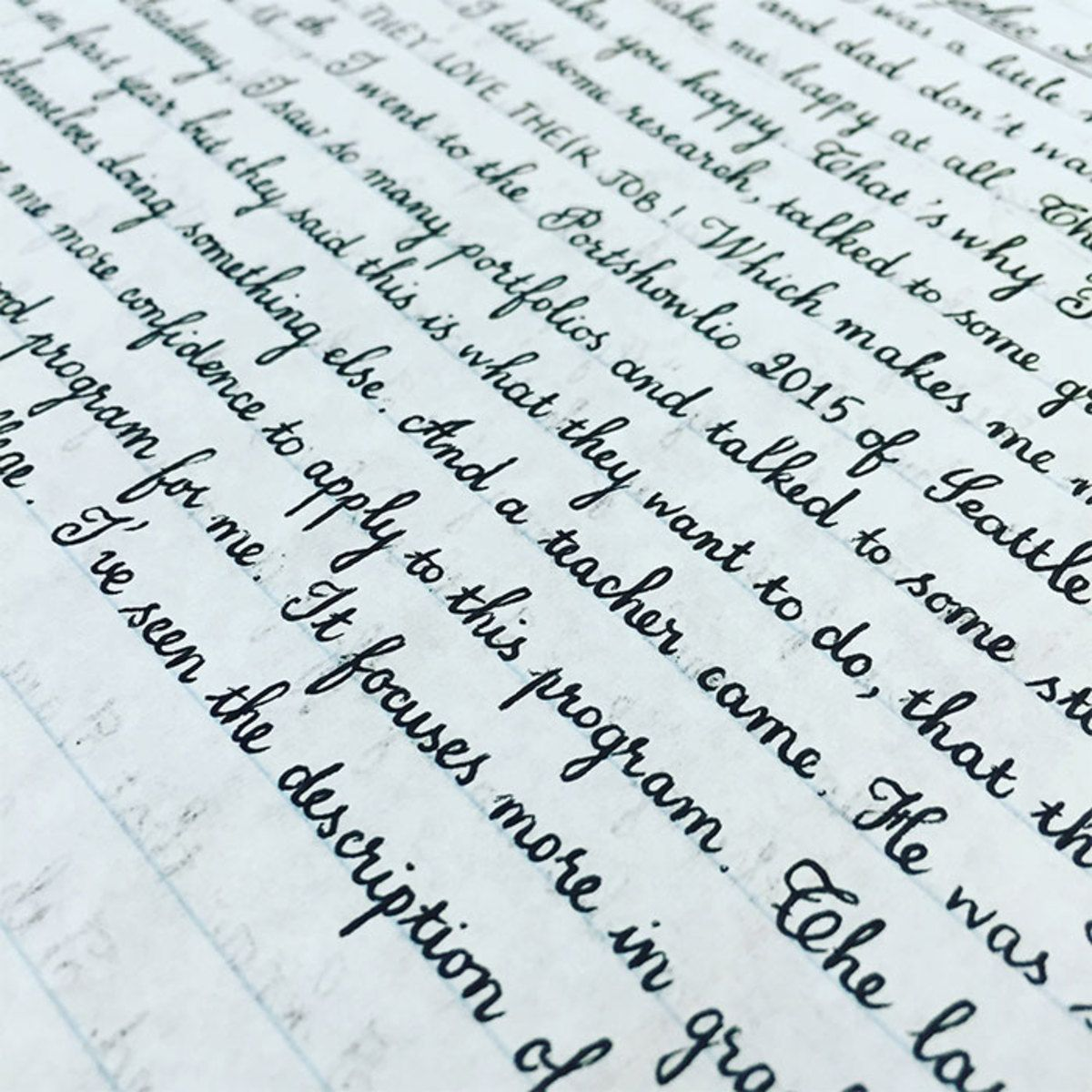 30 Unbelievably Satisfying Examples Of Perfect Handwriting