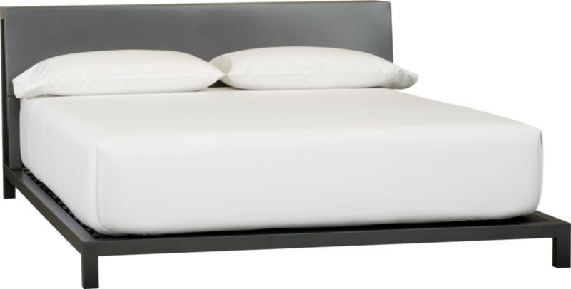 Alpine gunmetal king bed Products Pinterest Bed, Bedroom and
