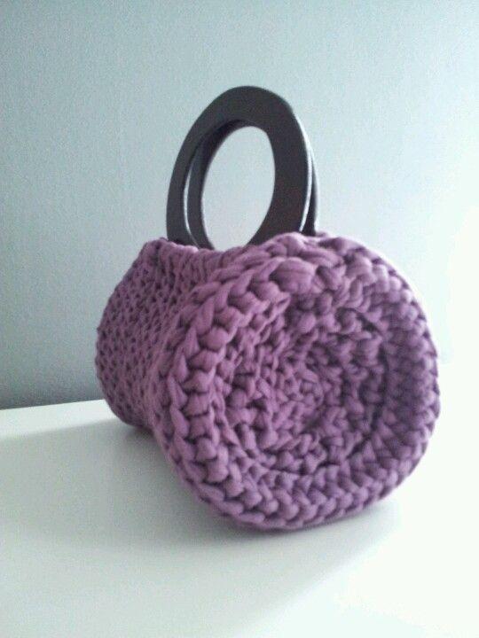 Zpagetti Roma bag | Crochet | Pinterest | Stricken, Häkeln und Nähen