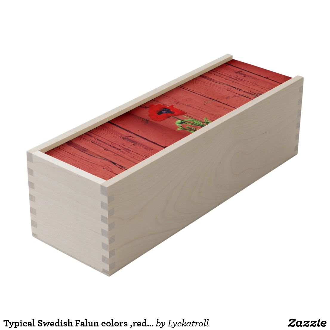 Typical Swedish Falun Colors Red Color Wooden Keepsake Box Zazzle Com Wooden Keepsake Box Keepsake Boxes Wooden Wine Boxes