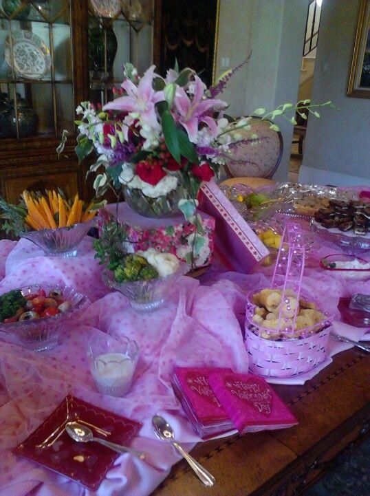 Valentine's tea party