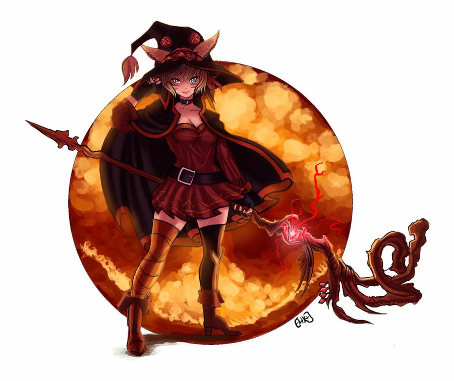 Ffxiv 2020 Halloween Y'shtola Megumin Halloween Special FFXIV by Arc Tempered PhoeniX