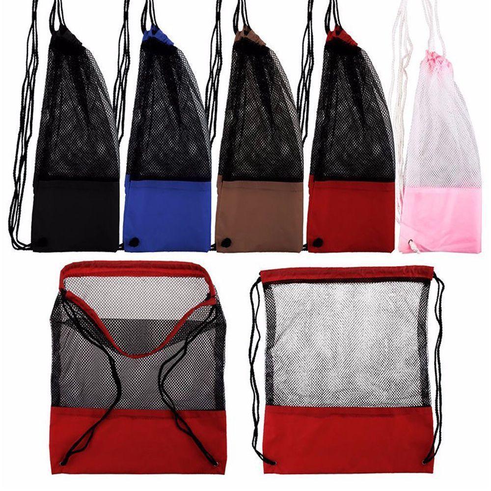 a334243d6e  1.22 - Sport Storage Bag Mesh Bag Beach Bag For Tavel Hiking Storage Bag  Backpack  ebay  Fashion