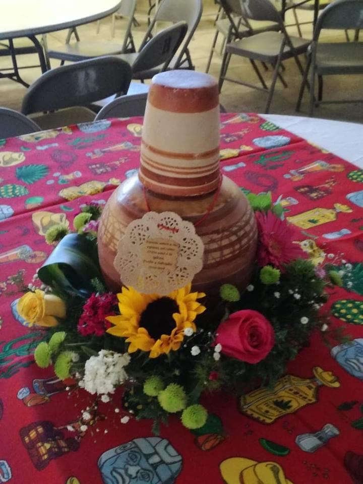 Centro De Mesa Decoracion Fiesta Mexicana Fiestas De Cumpleanos Mexicanas Decoraciones De Boda Mexicanas