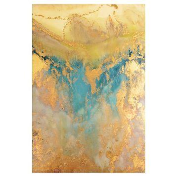 Bildresultat för teal and gold abstract