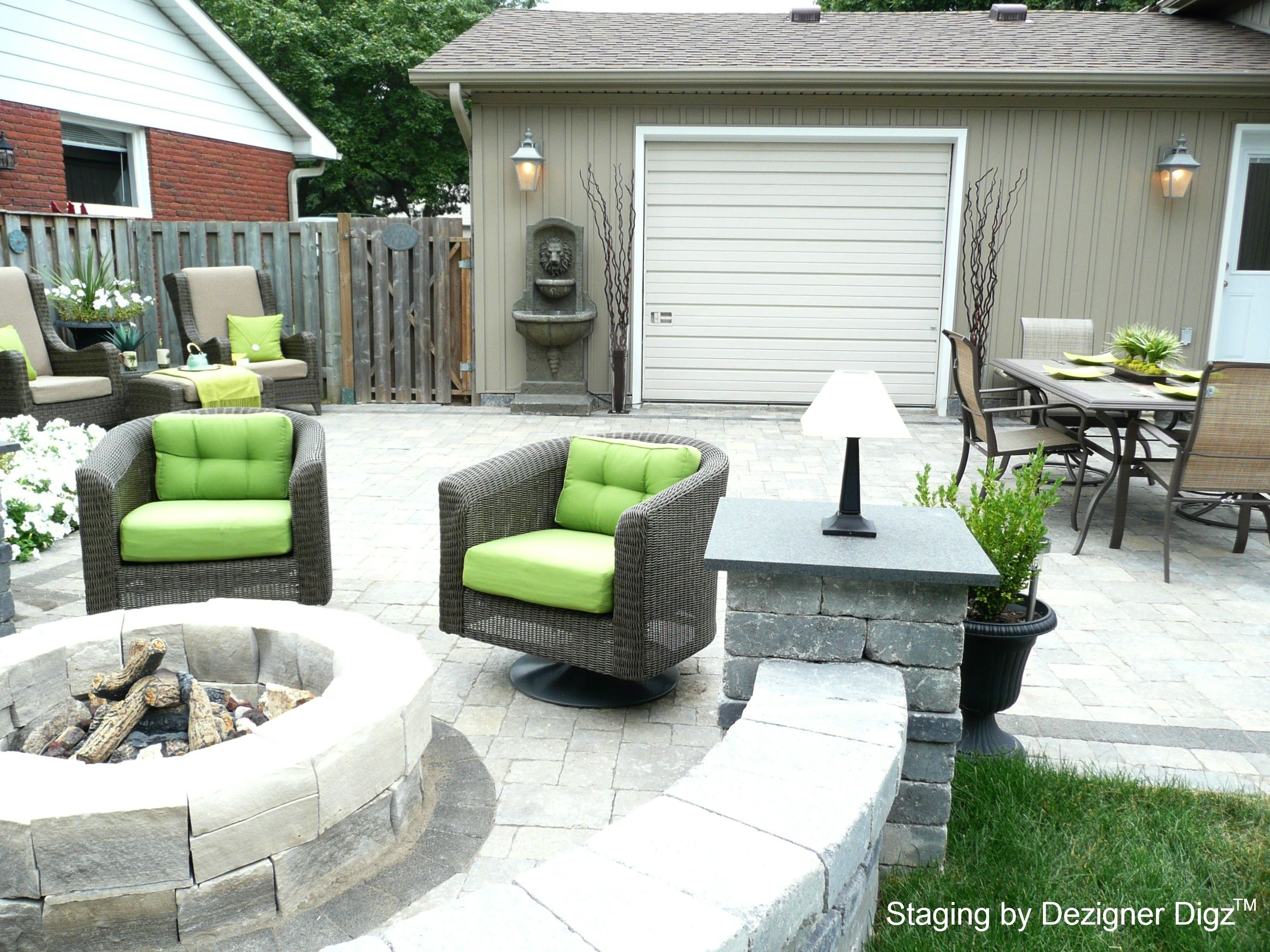 Staged Patio | Patio_staged · Modern FurnitureOutdoor FurnitureOutdoor  Living ...