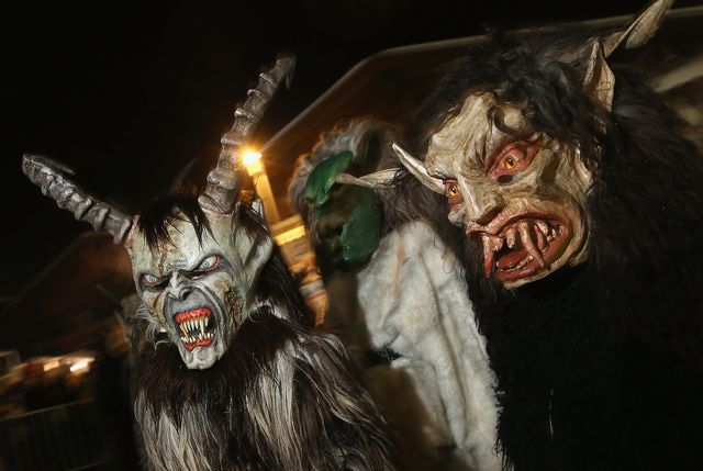 Yule Customs, Traditions and Folklore Krampusnacht, Dec 5