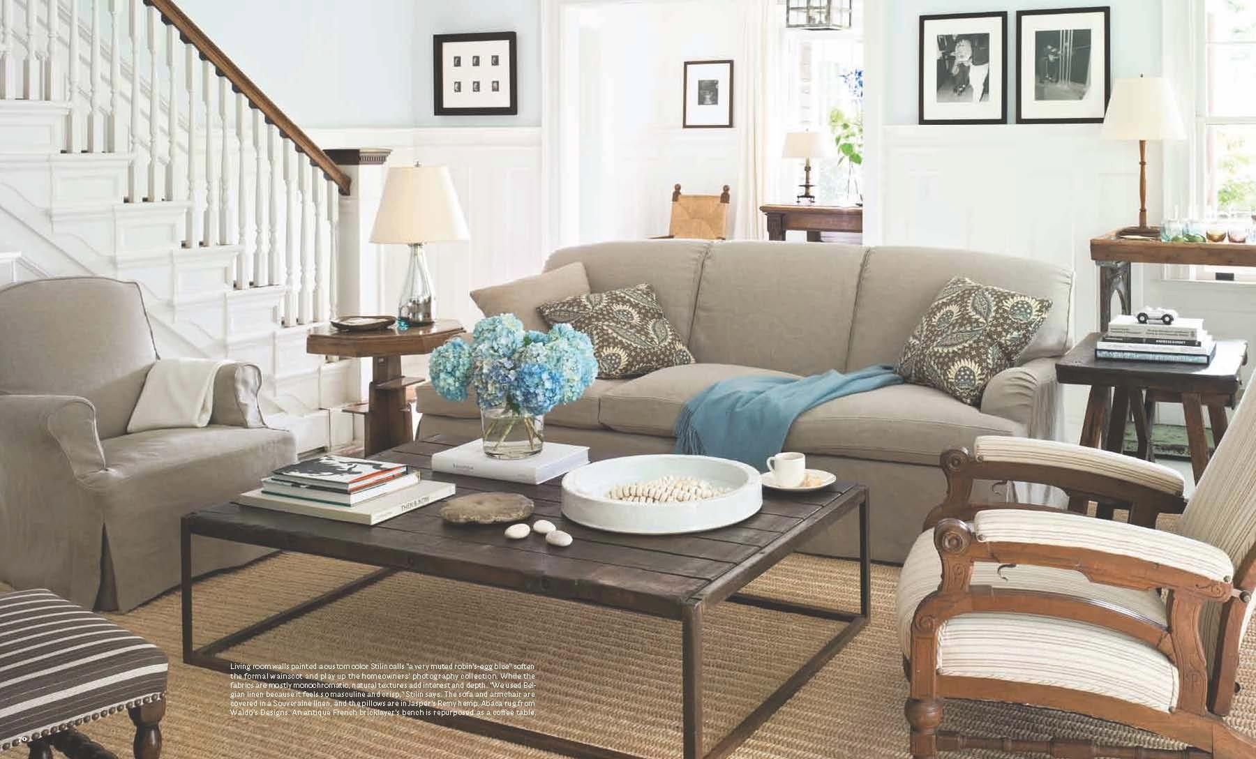 Robert Stilin Design 2nd Floor Living Room Beautiful Sofas Cottage Style Shaker Style 2nd living room ideas