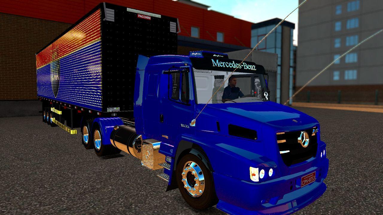 Rbr mobili ~ Euro truck simulator 2 mercedes muitop baÚ especial mapa eaa