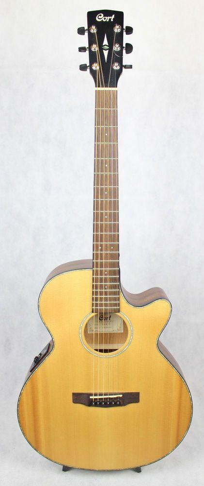 Electro Acoustic Guitar Cort Sfx E Natural Satin Guitar Acoustic Guitar Electro Acoustic Guitar