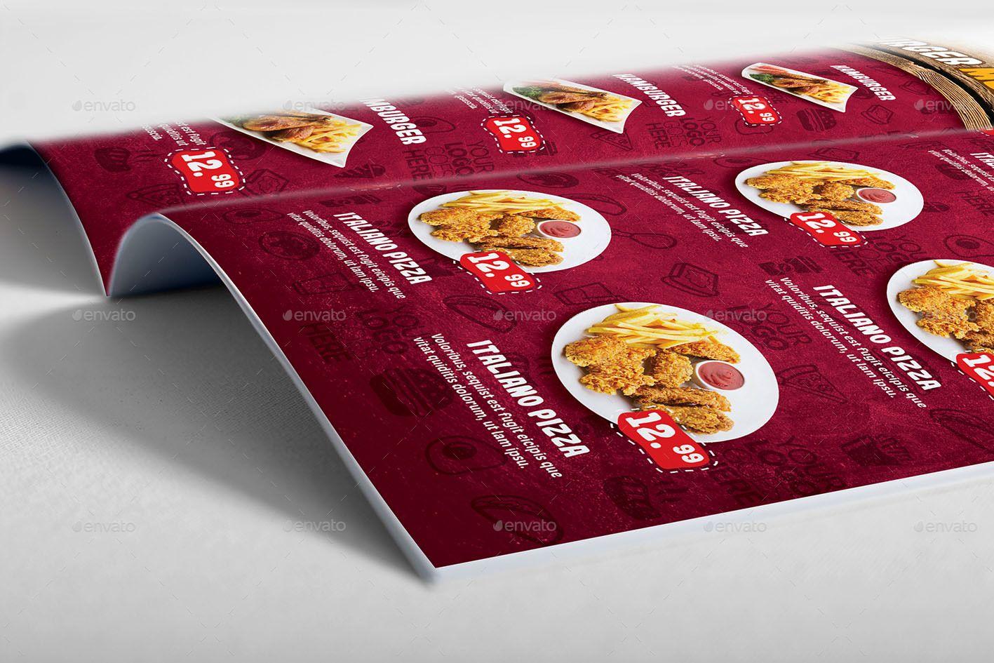 Food Menu Template | Pinterest | Food menu template, Menu templates ...