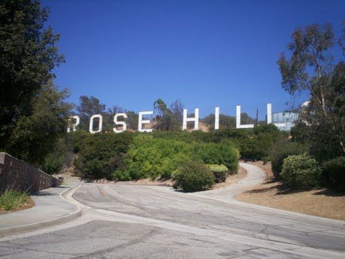 Panoramio Photo Of Rose Hills Cemetery Whittier Ca Famous Sign Whittier California Rose Hill Cemetery East Los Angeles