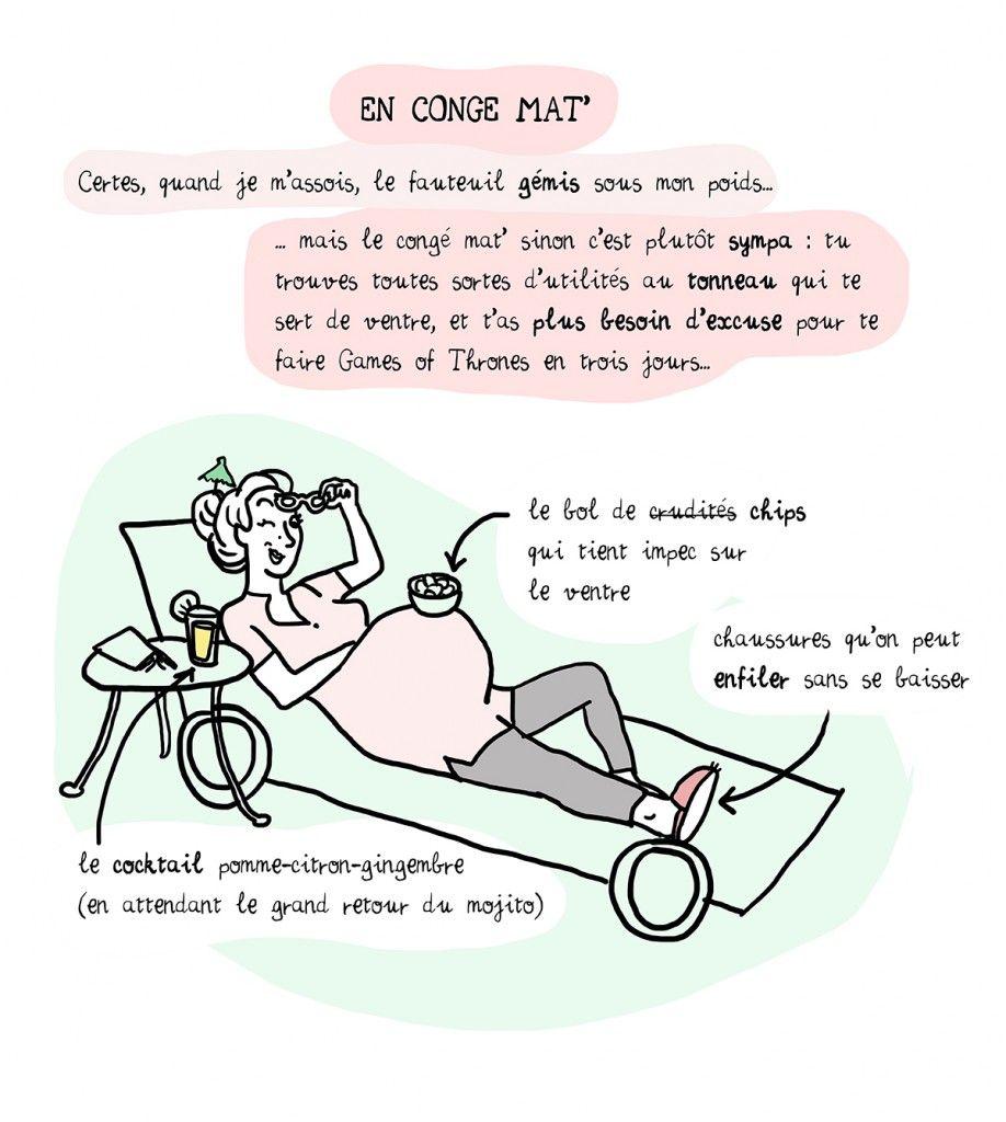 Maternit grossesse humour illustration pinterest grossesse humour et cong maternit - Pas de retour de couche enceinte ...