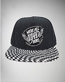 e10ad77a37d We re All Mad Here Snapback Hat