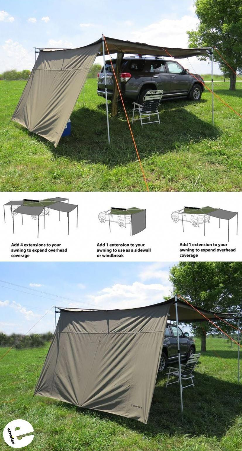 Get More Out Of Your Rhino Rack Foxwing Awning With This Extension Piece The Canvas Extension Simply Zips Into Camping Gear Diy Camping Gear Best Camping Gear