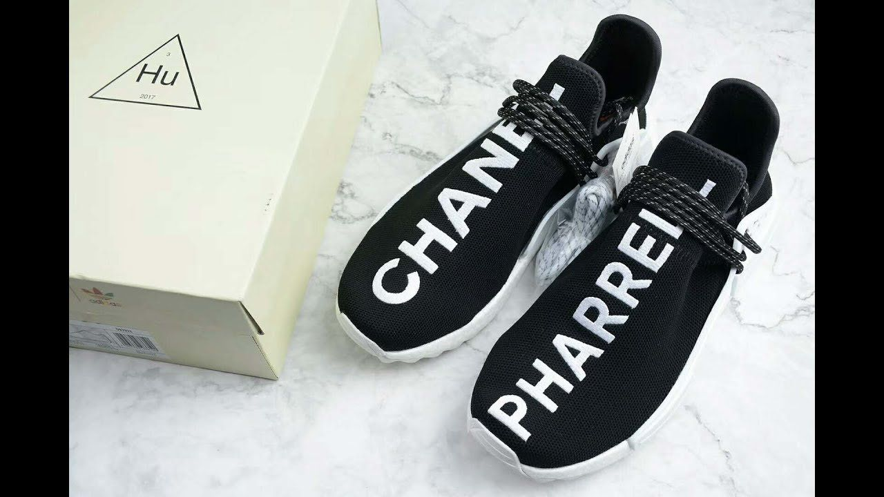 online store c7c72 75bfc Chanel x Pharrell Williams x adidas NMD Human Race Hu Trail