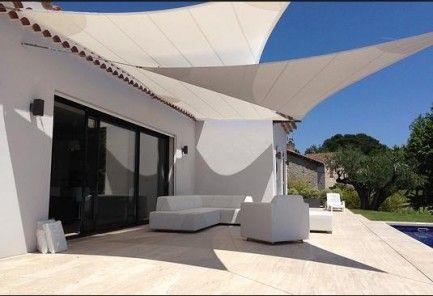pin by andri pelekanou on pinterest patios pergolas and backyard - Toldo Vela Rectangular