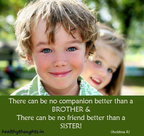 Brother companions sister constant