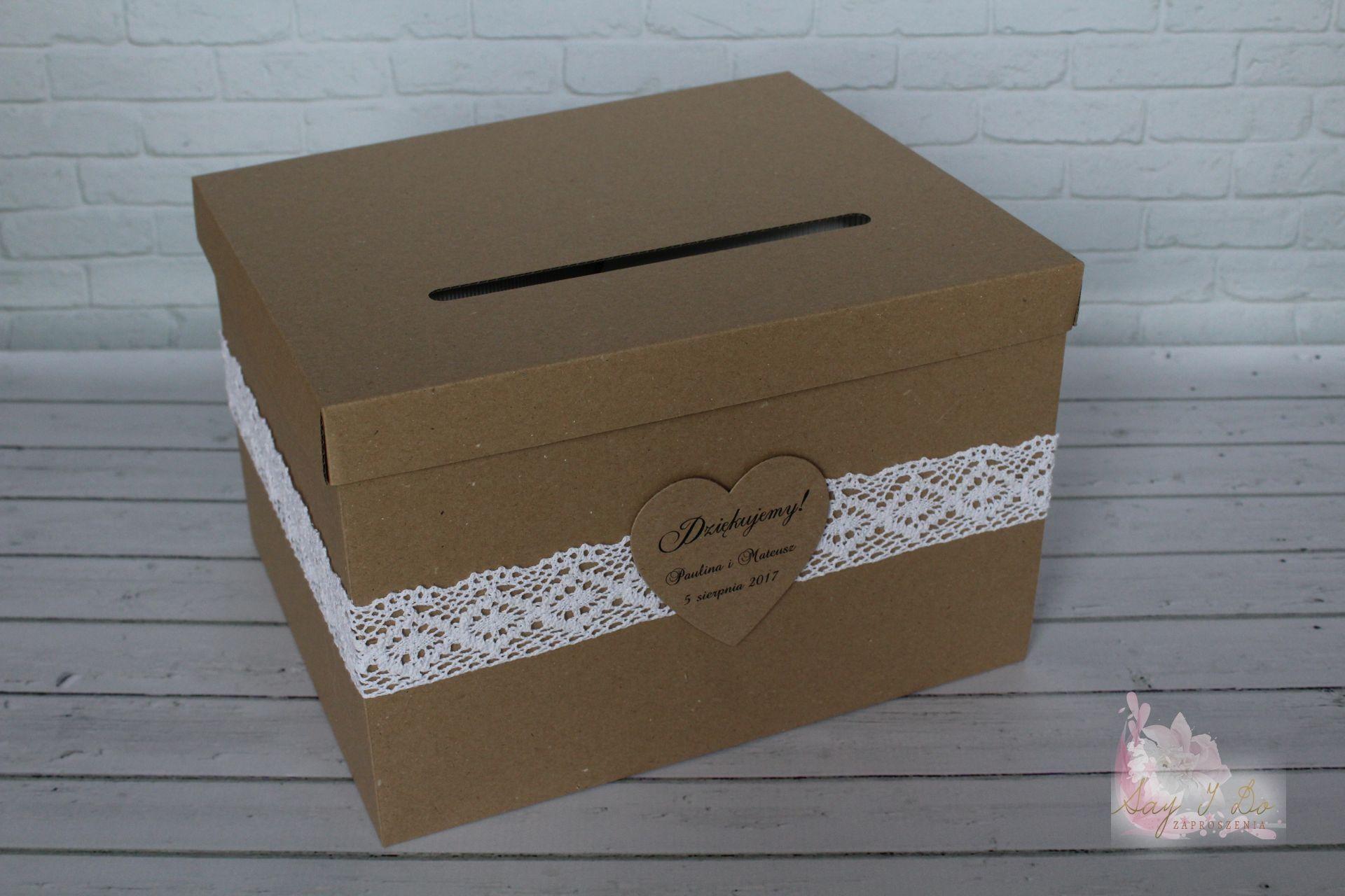 Pudełko na koperty Eko BigHeart