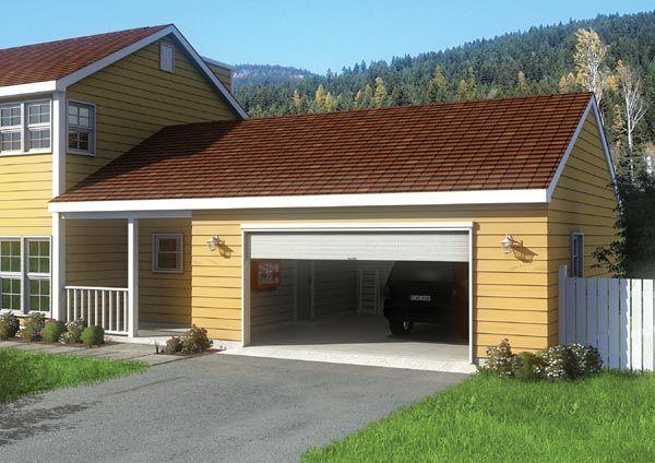 Traditional Style 2 Car Garage Plan Number 6013 2 Car Garage Plans Garage Addition Garage Plans With Loft