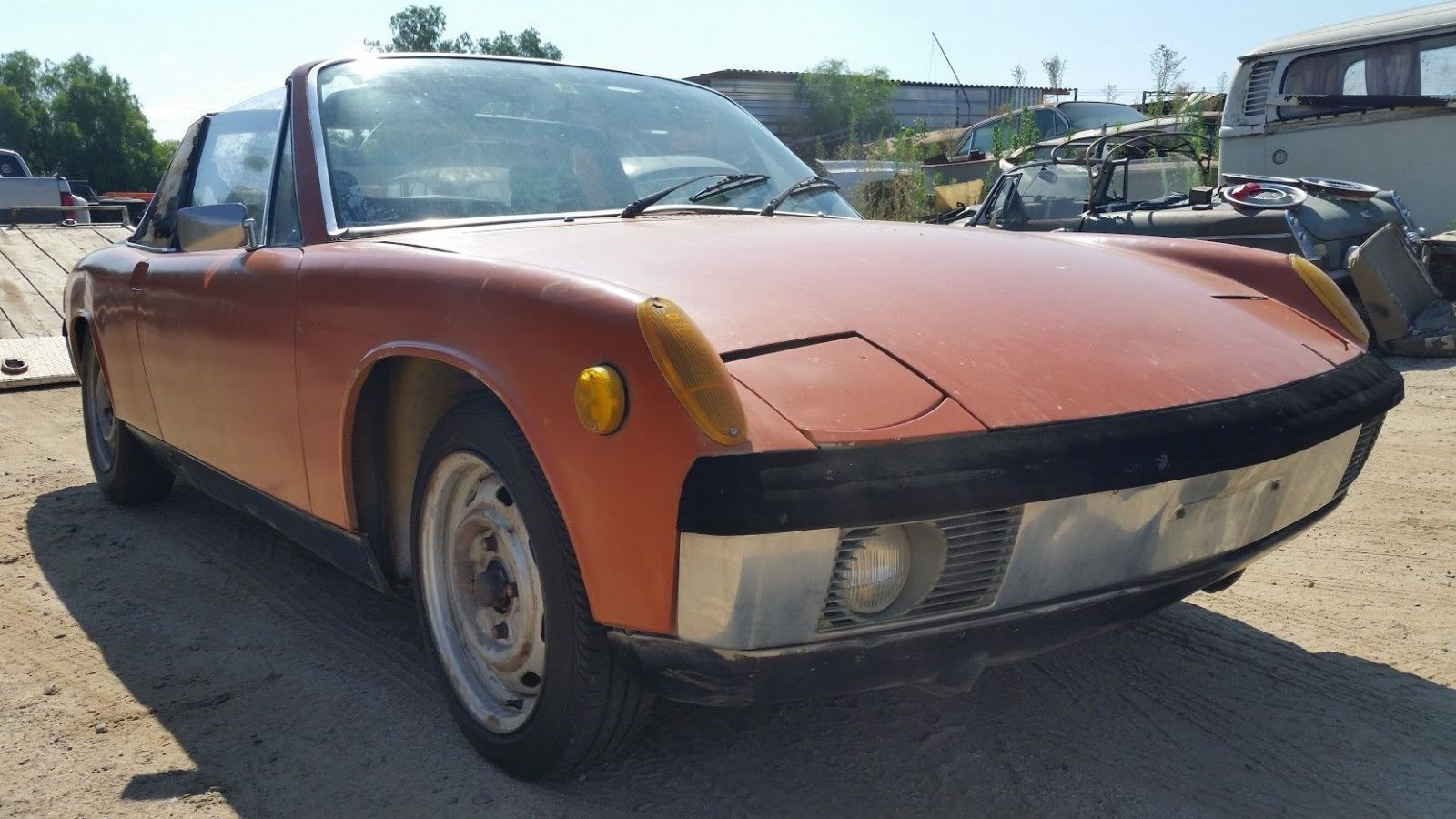 1970 porsche 914 targa manual *fresh usa import | Porsche 914 and Cars