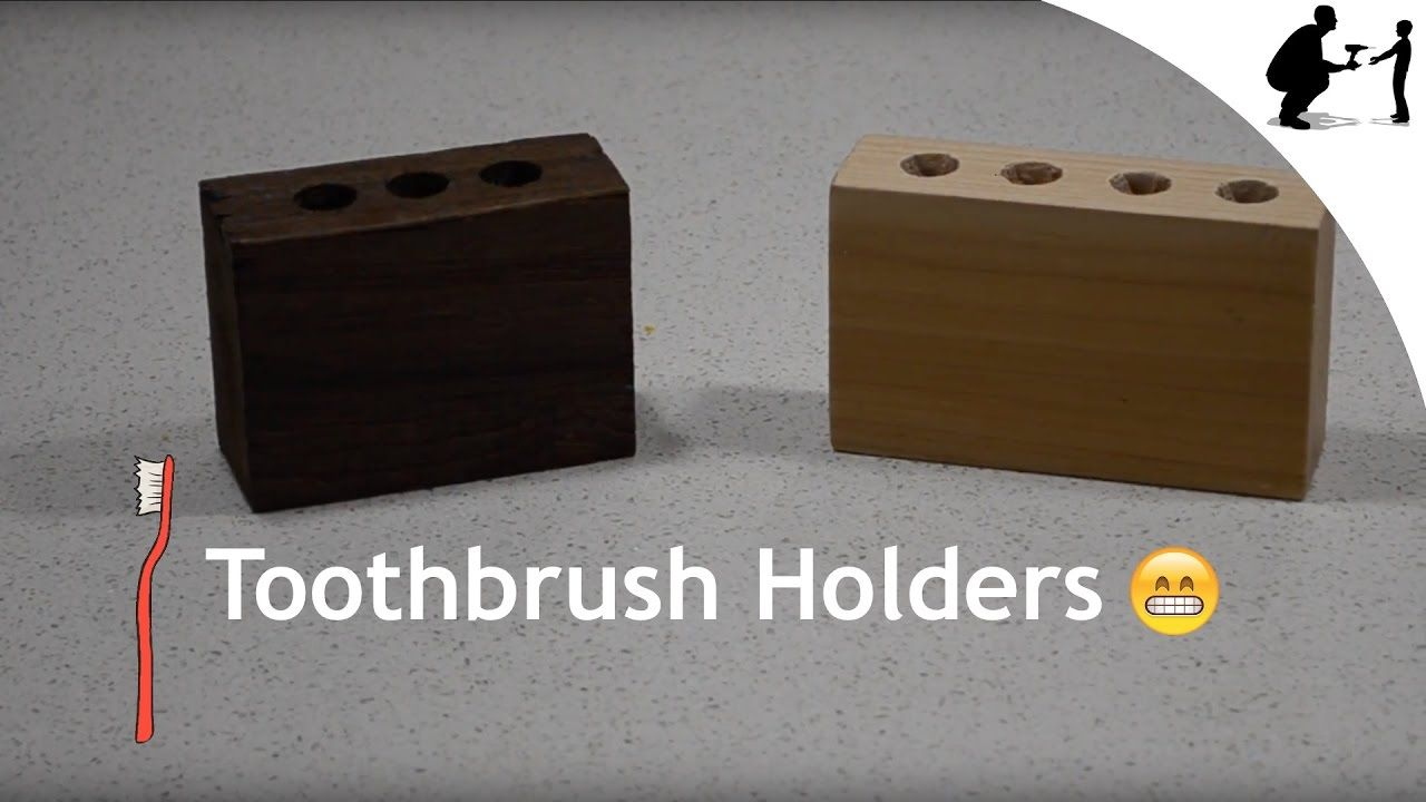 How to Make a Toothbrush Holder How