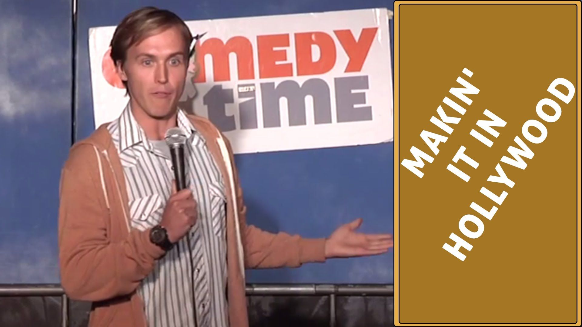 Stand Up Comedy by Nik Shriner - Makin' it in Hollywood