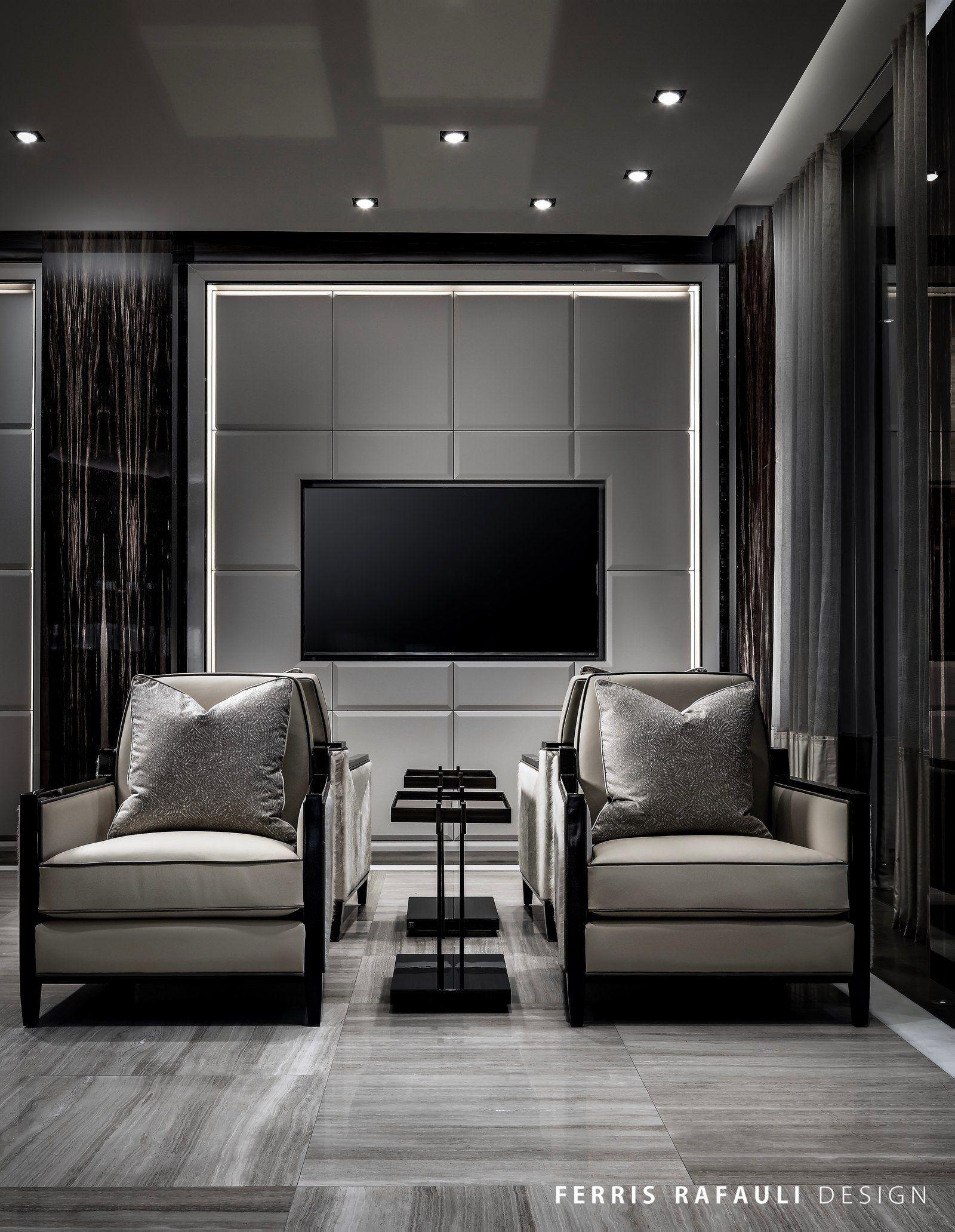 Living Room Wall Panel Design: Architecture By Ferris Rafauli