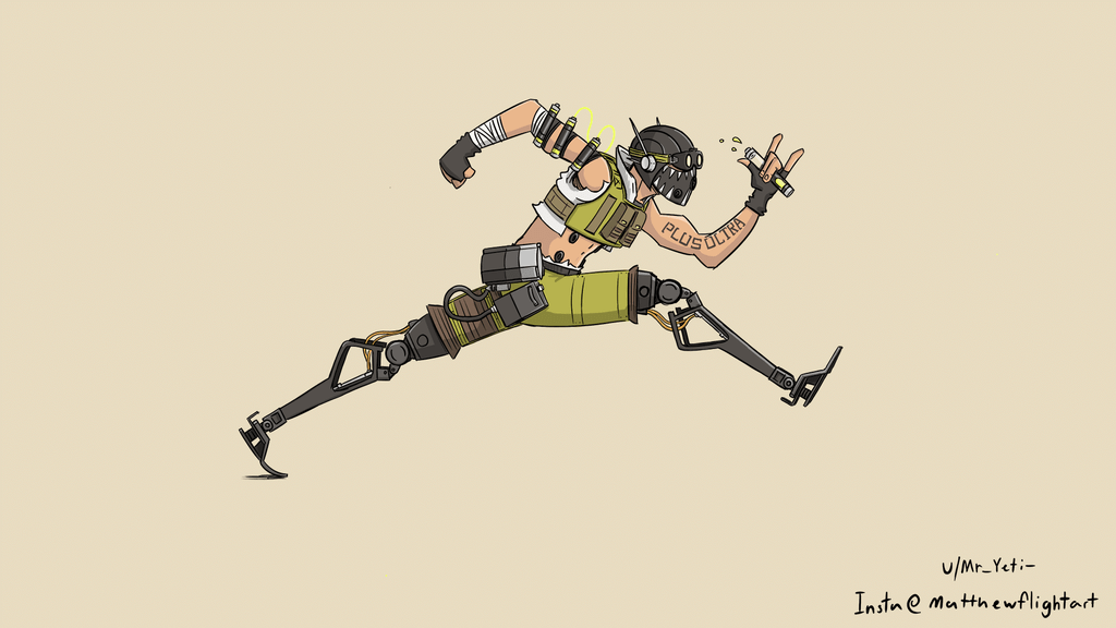 Octane By Mr Yeti Apex Legends Legend Drawing Anime Poses Reference Warframe Art