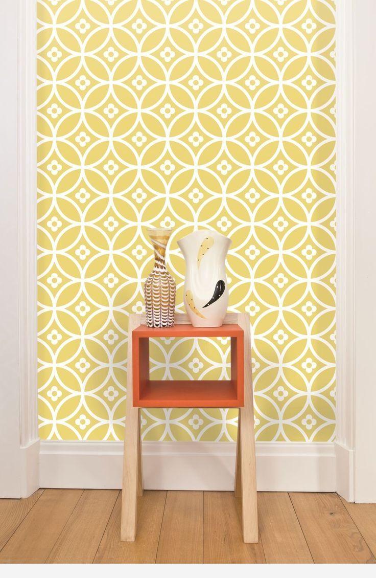 Pin by julia on HD Wallpapers | Pinterest | Yellow kitchen wallpaper ...