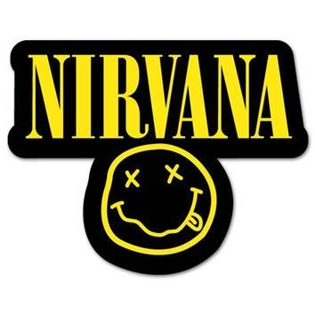 bands stickers Buscar con Google Nirvana in 2019