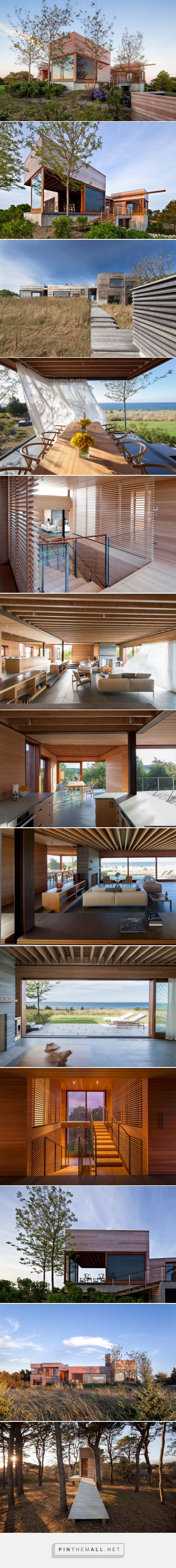 peter rose forms island residence in massachusetts as a series of connected pavilions - created via http://pinthemall.net