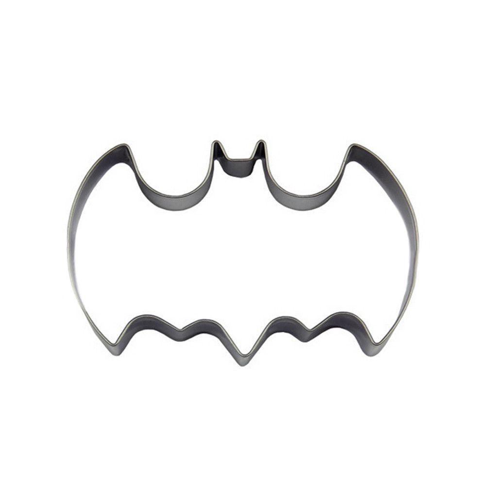 1pc Big Bat Batman Mould Fondant Cake Cookies and Biscuit Cutter