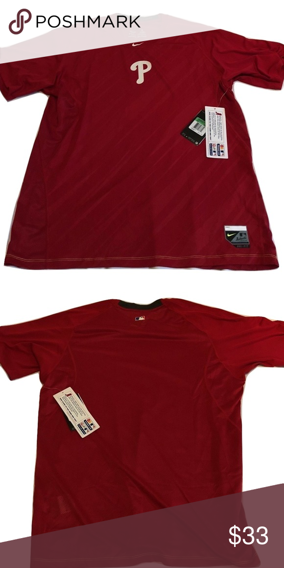bebde9e1c Philadelphia Phillies Nike Pro Combat Speed Shirt Philadelphia Phillies Nike  Dri-Fit Pro Combat Speed Shirt. Save money by bundling with other items in  my ...