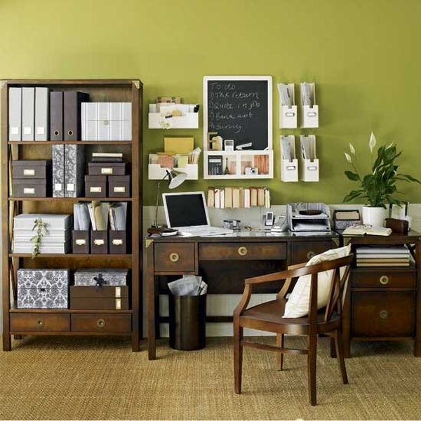 Awesome Classic Style Office13   Home Decorating Trends   Homedit