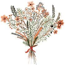 Bouquet - Art Print by Vikki Chu