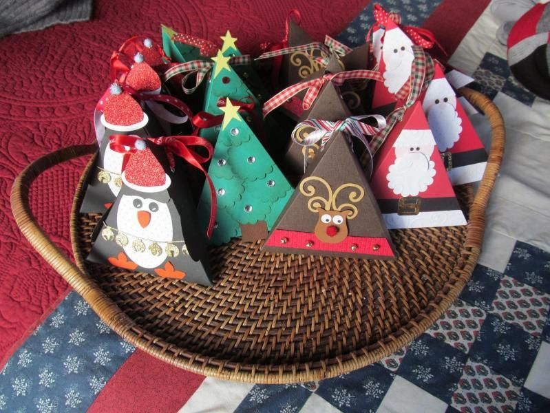 Christmas boxes by beechwood - Cards and Paper Crafts at