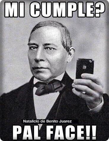 Resultado de imagen para natalicio de Benito juarez gif