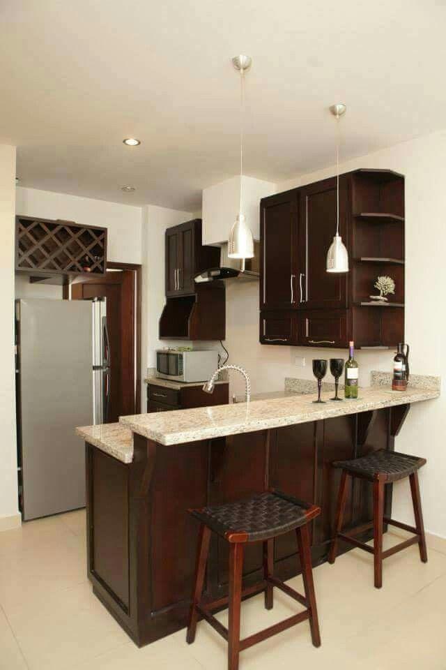 Cocina mi nueva casa pinterest barras de cocina y - Barras de cocinas modernas ...