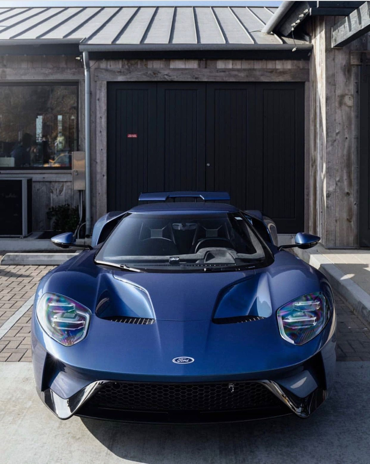 Ford Gt Painted In Liquid Blue Photo Taken By Theonetruemo On Instagram Fordgt