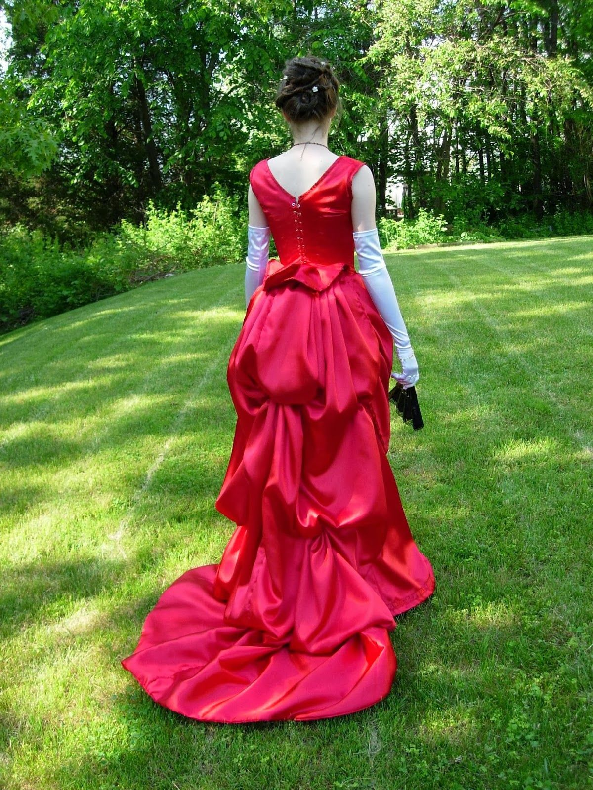Another Victorian Bustle Gown Costume for Sale, Just in