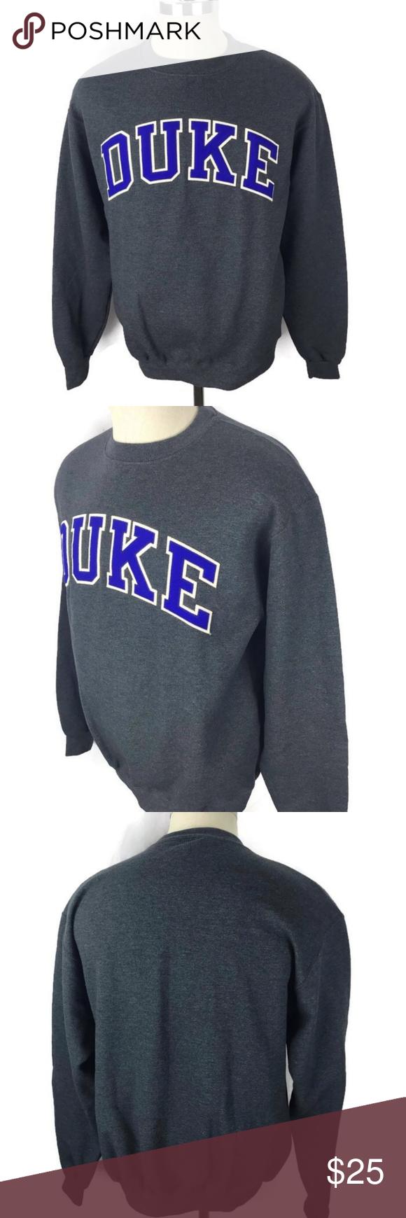 Champion Eco Fleece Sweatshirt Medium Duke Champion Eco Fleece Sweatshirt Duke University Medium Gray Chest Sweatshirt Fleece Sweatshirts Sweatshirt Shirt [ 1740 x 580 Pixel ]