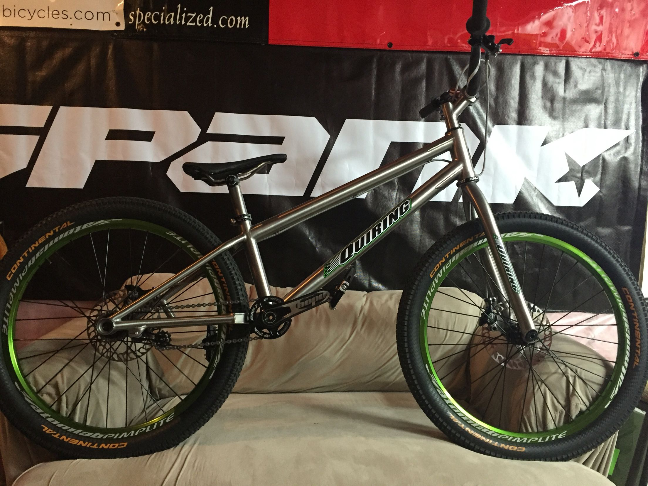 Custom Quiring 24 Trials Bike Trial Bike Bmx Bicycle Bicycle