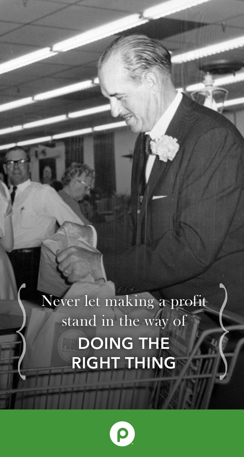 Our Publix Founder George Jenkins Inspired The Values