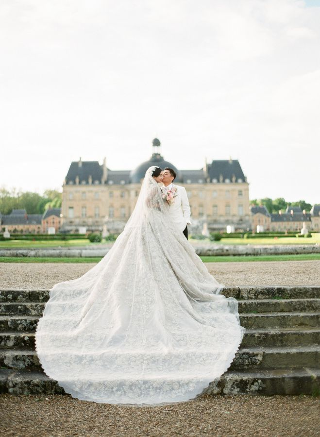 Breathtaking Hand Sched Elie Saab Wedding Gown