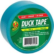 Shurtech 1017794 20 Yard Aqua Duck Tape Walmart Com Duck Tape Black Duct Tape Duct Tape Colors