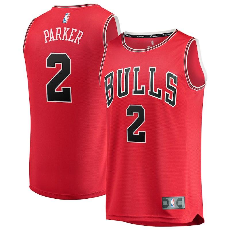 half off e042e 9c319 Jabari Parker Chicago Bulls Fanatics Branded Youth Fast ...